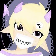 Cute mischief headshot