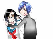 Sibling Koe Futa and Aki