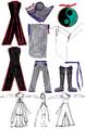 Ixbran Ximune - Act 2 Design - Outfit Details.PNG