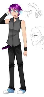 Hisoka alternate design