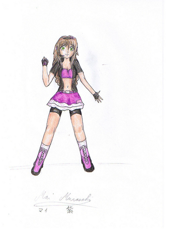 File:Mai design by Melody drawing by Milly.png