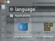 Languagesupport