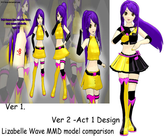 File:Lizabelle Wave MMD comparison.jpg