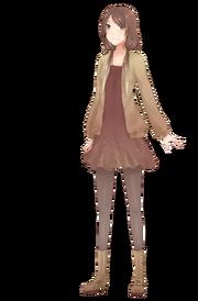 Kamokuon Shiina (寡黙音しいな) full body concept