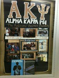 Alpha Kappa Psi Board