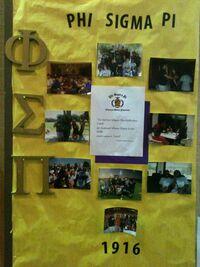 Phi Sigma Pi Board