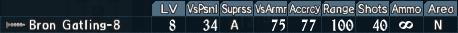 Gatling turret 3-8