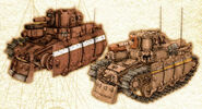 Imperial Light Tanks