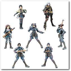 Valkyria Chronicles Trading Figure