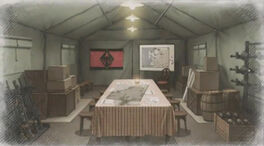 Calamity raven headquarters camp