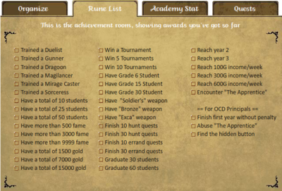Rune List