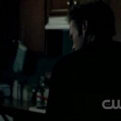 Alaric in the kitchen