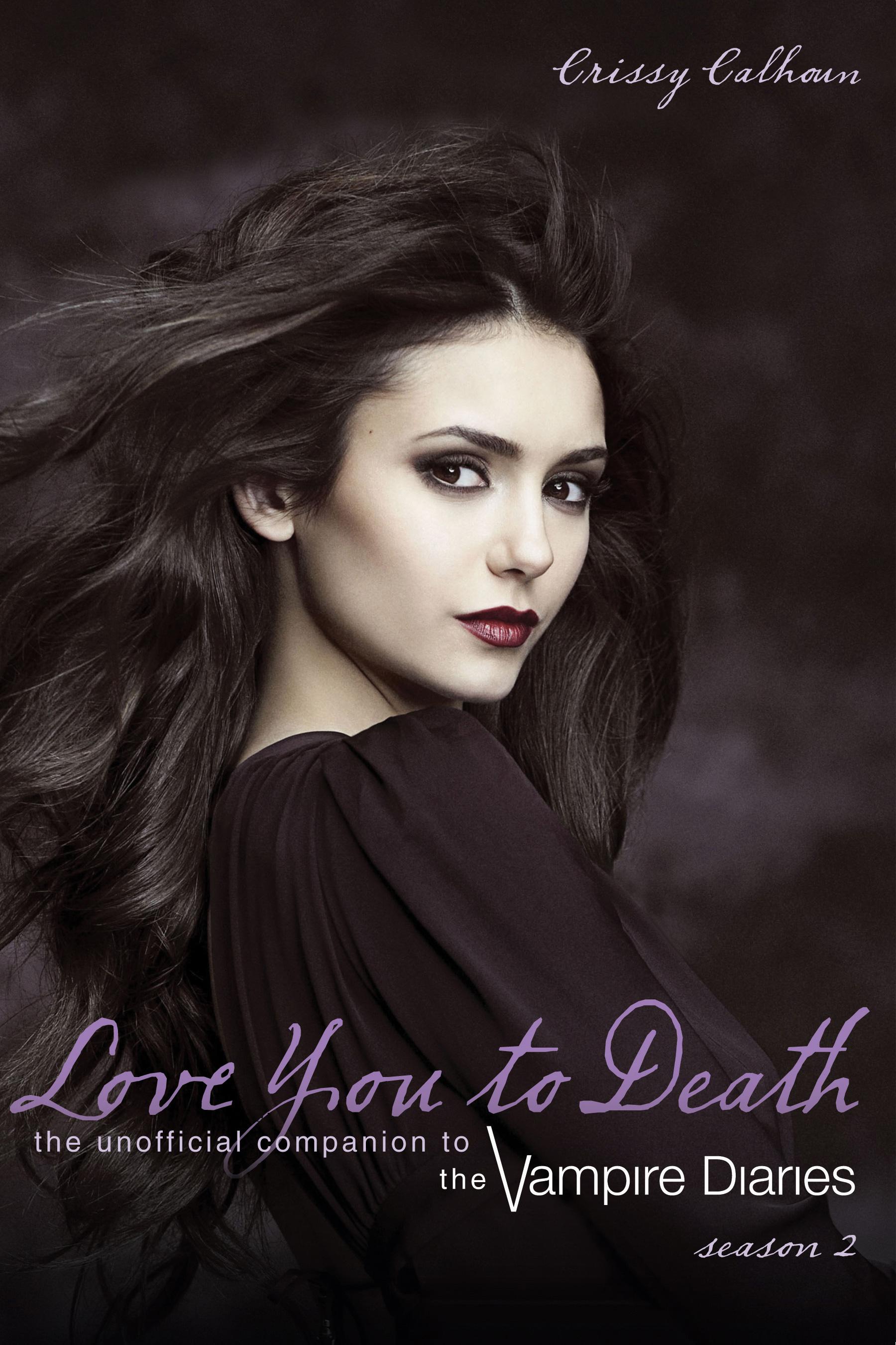 Book Cover Design Vampire : Love you to death season the vampire diaries wiki