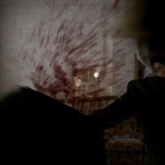 Elijah killing Trevor