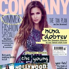 Company — Jul 2013, United Kingdom, Nina Dobrev