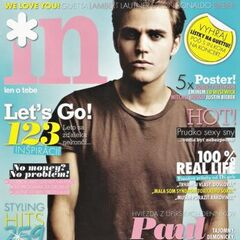 In — Sep 2010, Slovakia, Paul Wesley