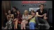 The Vampire Diaries Cast EW Interview @ Comic Con 2013