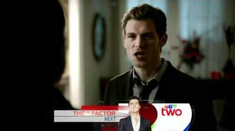 "The Vampire Diaries Klaus and Michael reunite Klaus kills Michael-""Homecoming""-(3X09)"