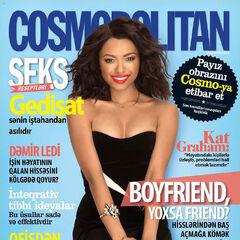 Cosmopolitan — Sep 2014, Azerbaijan, Kat Graham
