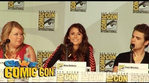 The Vampire Diaries Panel Comic-Con 2013