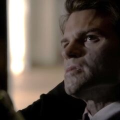 Elijah stabbed with a silver dagger