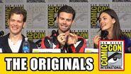 The Originals Comic Con 2015 Panel Danielle Campbell, Joseph Morgan, Daniel Gillies, Phoebe Tonkin