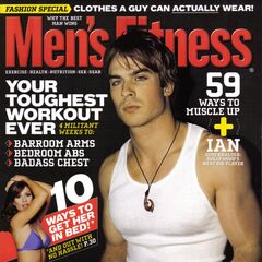 Men'sFitness — Mar 2006, United States, Ian Somerhalder
