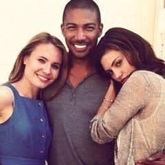 Leah, Charles, and Phoebe