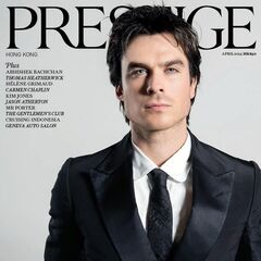 Prestige — Apr 2013, Hong Kong, Ian Somerhalder