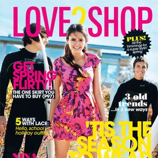 Love 2 Shop — Oct 2010, Australia, Nina Dobrev