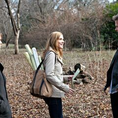 Jenna,Alaric and Elijah near Fell property