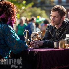 The Fortune Teller and Klaus