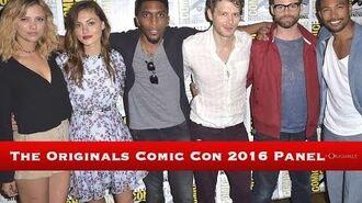 The Originals Comic Con Panel 2016
