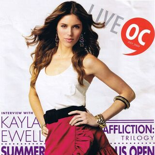 Live Orange County — Jul 2009, United States, Kayla Ewell