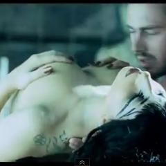 Taylor Kinney in Gaga's video