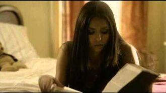 TVD season 2 Deleted Scene Elena Damon Alaric & Elena Stefan