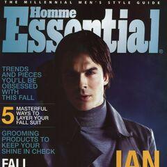 Essential Homme — Fall 2012, United States, Ian Somerhalder