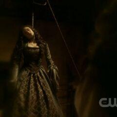 Katerina hangs herself.