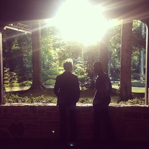 Malcolm & Beau. BTS