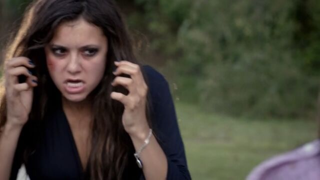 File:Katherine gets pepper sprayed TVD 5x02.jpg