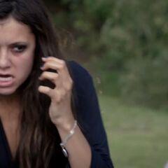 Katherine gets pepper sprayed