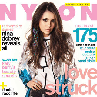 Nylon — Feb 2012, United States, Nina Dobrev