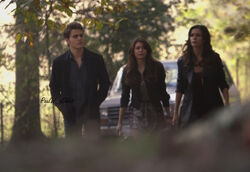 Stefan, Elena and Nadia 5x11