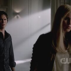 Damon and Rebekah 4x01
