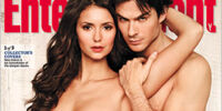 The Vampire Diaries magazine covers