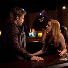 Jenna talking with Alaric