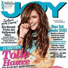 Joy — Dec 2012, Germany, Nina Dobrev