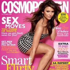 Cosmopolitan — Oct 2013, South Africa, Nina Dobrev