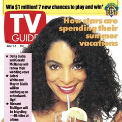 TV Guide — Jun 1, 1991, United States, Jasmine Guy