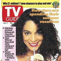 TV Guide — Jun 1, 1991, United States, Jasmine Guy